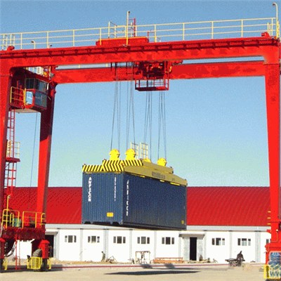 RTG Container Gantry Crane for Container Yard, Rail Freight Station