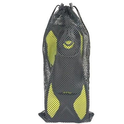 Adult Diving Set Fins Mask Snorkel together with Whole Mesh Bag