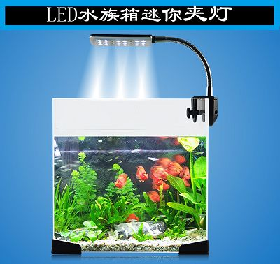 Mini Aquarium Tank Decoration Ornament Air Bubble Lights