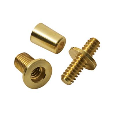 Brass Y Screw Connector CNC Machining