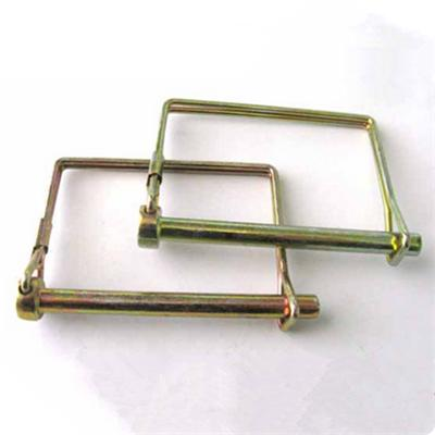 Zinc Plated Square Locking Pin