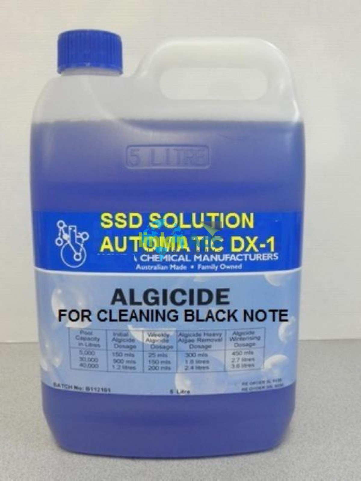 SSD CHEMICAL SOLUTION FOR CLEANING BLACK CURRENCIES