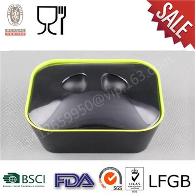 High Quality Melamine Bread Box with Lid,Two Tone Melamine Bread Bowl Suppliers