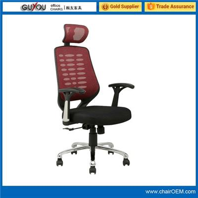 Y-1750 High back swivel mesh office chair with headrest
