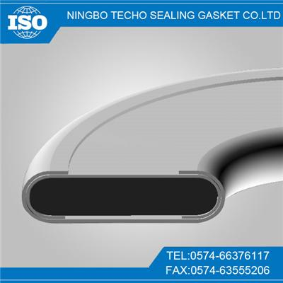 SS316 RIB Graphite Double Jacketed Gasket