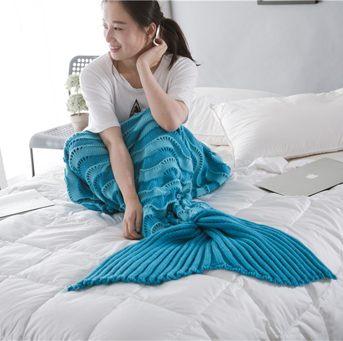 Mermaid Tail For Sale Soft Sofa Blanket All Seasons Super Soft Sleeping Bags