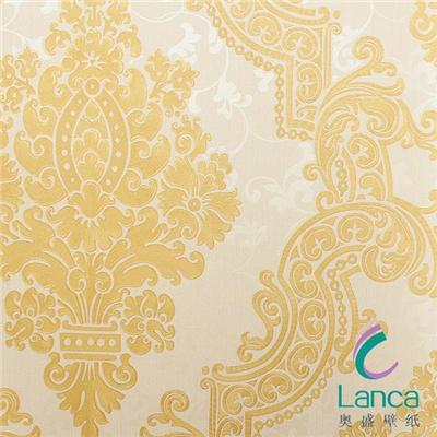 Home Wall Decoration Plastic Interior Paintable Classic Wallpaper For Walls LCPE091191202