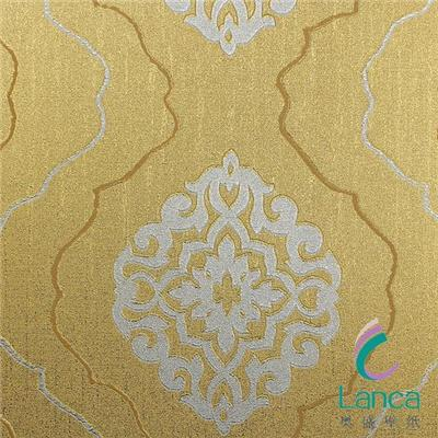 China Good Quality Metalic Vinyl Natural Flower Wallpaper Suppliers China LCJH0028103