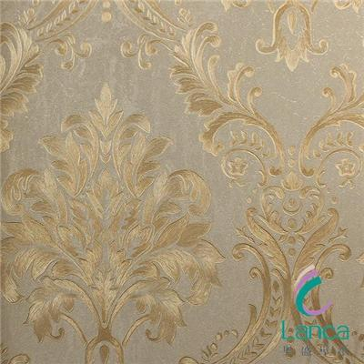 Luxury Modern Classic Pvc Leather Design Wallpaper LCPE1070607