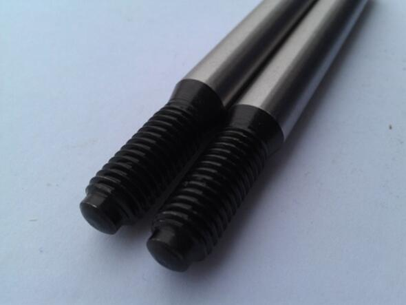 China manufacturing high-quality taper pin with threaded end ISO 8737