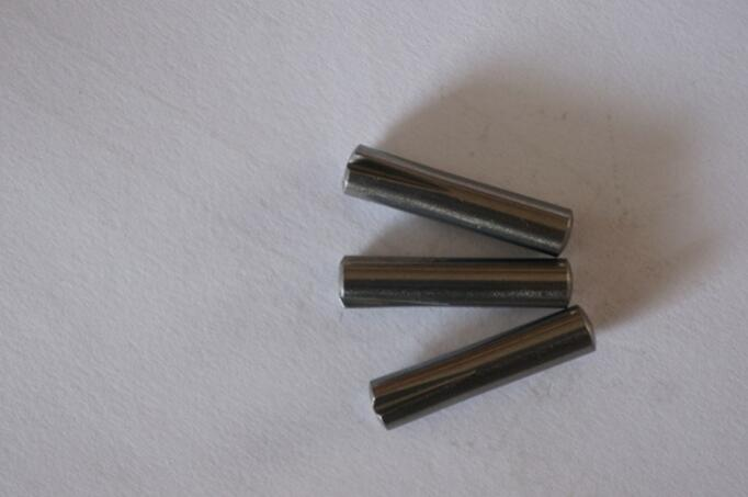 High precision stainless steel 303 groove pin ISO8745