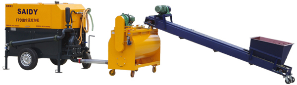 concrete mixer pump/machine/truck,foam concrete machine, cement foaming machine