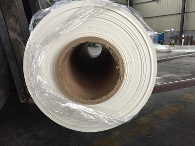 Milky white pet film used as surface material