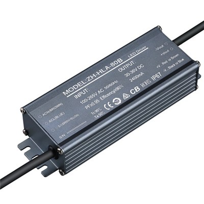 LED driver factory constant current 1550mA 2100mA 2400mA 85W LED driver