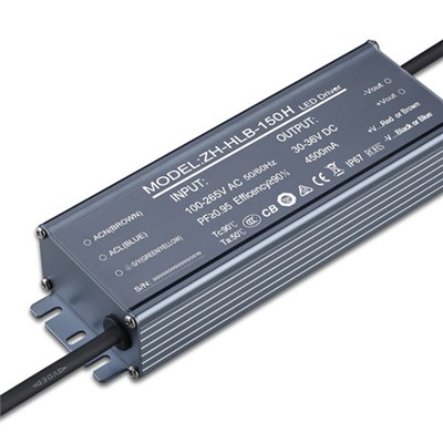 130W LED Drivers, 48V DC Output Voltage with TUV, CE, Marks, Suitable for Indoor Light