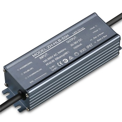 LED Power Supply with 3.75A Output Current, 45W Output Power and IP68 Waterproof Grade