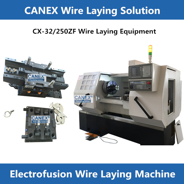 CANEX CNC WIRE LAYING MACHINE FOR ELECTROFUSION FITTINGS