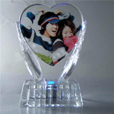 Romantic Crystal Photo Frame