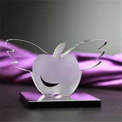 Flying Crystal Apple Crafts