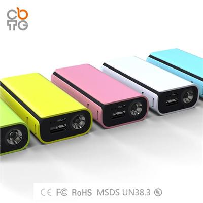 Q3 4400mah/5200mah Mobile Power Bank For Iphone 6
