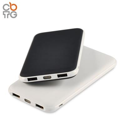 L15 Card Shape Portable Power Bank With Built In Usb Cable