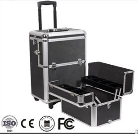 Train Cosmetic Hairdressing Trolley Case Professional