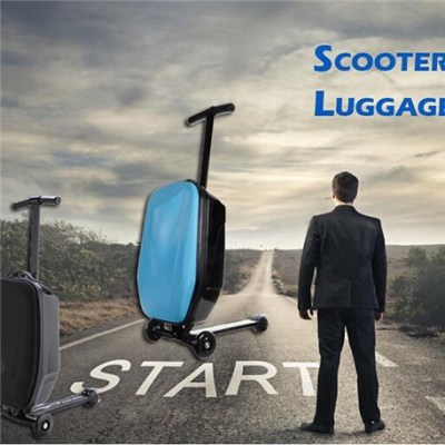 Scooter Luggage Case, Suitcase, Luggage Trolley, Wheeled Luggage