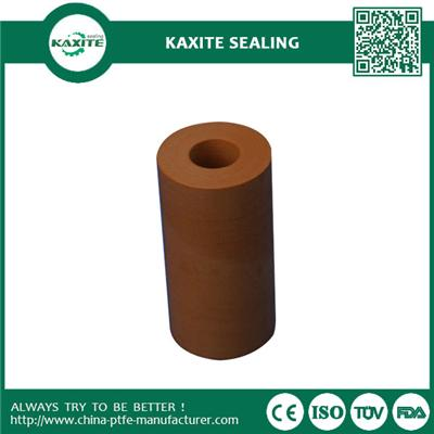 Bronze Filled Ptfe Teflon Tube High Strength With Low Flammability