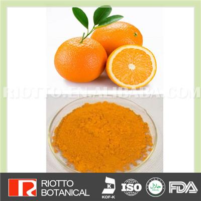 Orange Powder, Pure Natural Green Healthy Orange Powder Supplement Vitamin C