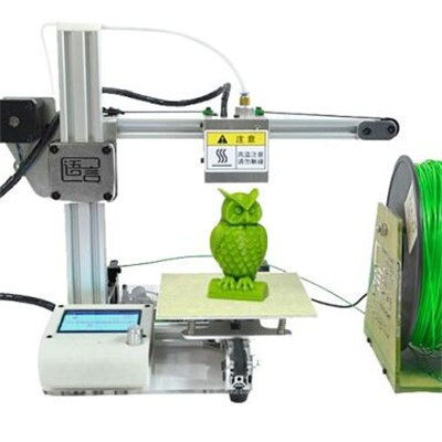 Safety-conscious desktop 3D printer