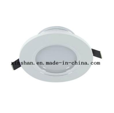 High Quality Round Recessed Ceiling 3W Led Downlights Lamp / Flat Thin Downlights