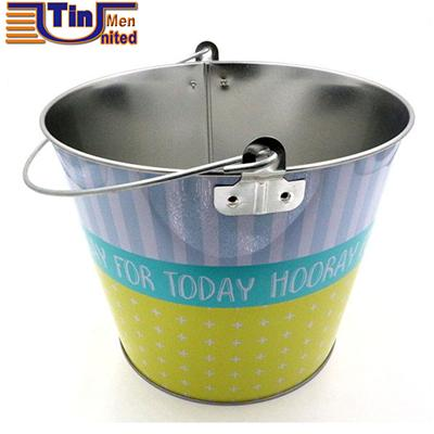 Handle Tin Bucket