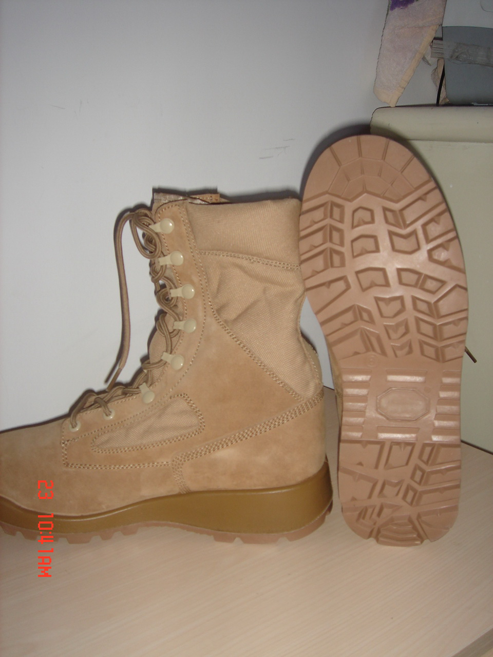 Military Boot Desert Boot Jungle Boot Combat Boot Police Shoes Officer Shoes Patent PU Shoes Safety Shoes Work Boot
