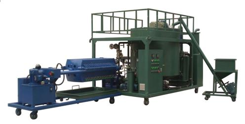 HY series waste engine oil recycling purifier machine