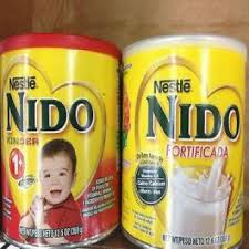 Nido Milk Red cap