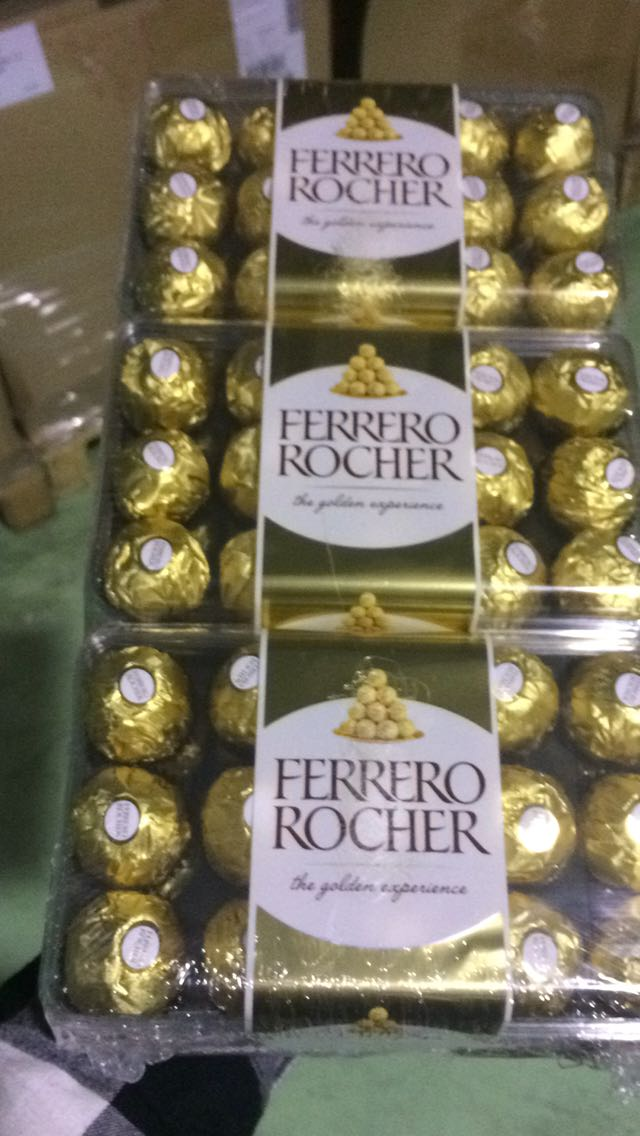 Ferrero Rocher Chocolate T16, T3, T30