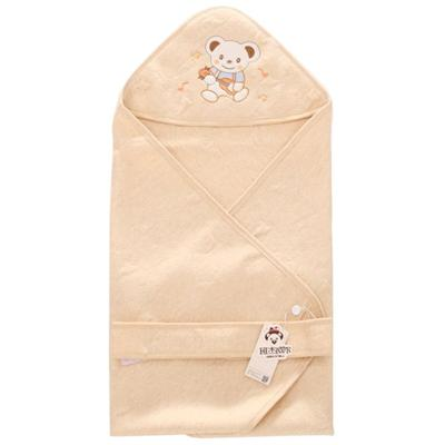 Embroidery Organic Cotton Newborn Baby Receiving Blanket