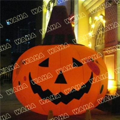 Inflatable Halloween With Changeable Led For Halloween Decoration