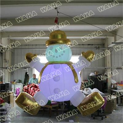 Cheap 20 Inflatable Snowman Family For Sale