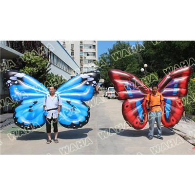 Moving Inflatable Butterfly Walking Costume Inflatable Mascot Animal
