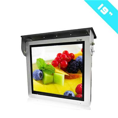 19inch LCD Bus WiFi Android Video Networking Advertising Player/ LCD Bus Electric TFT Type Digital Advertising Player