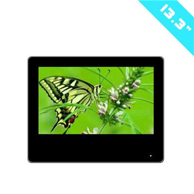 13.3inch Motion Activated Loop Video Digital LCD Advertising Display