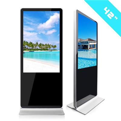 42inch Network Android Window Advertising Screen Floor Stand Lcd Touch Screen Advertising Display