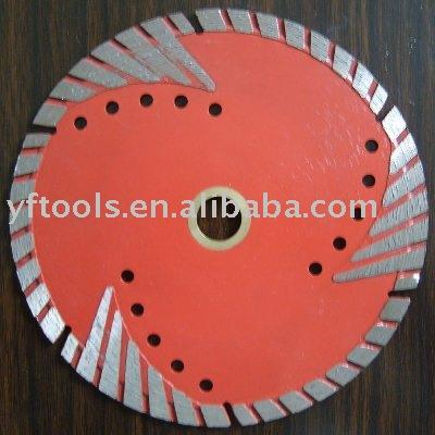 Diamond Turbo Saw Blades(Passed EN/MPA)
