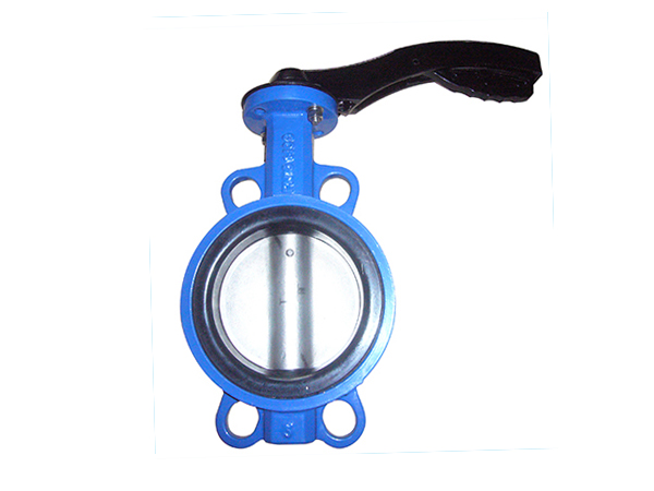 EPDM/NBR/VITON/PTFE rubber seal Anti-corrosion WaferType Aluminum bronze butterfly Valves