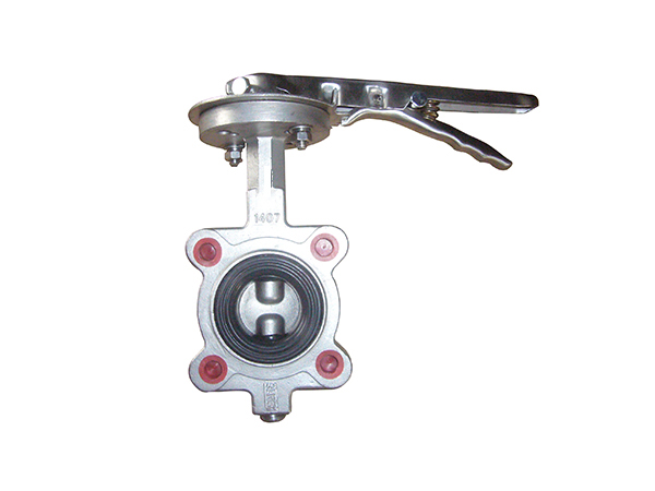 stainless steel  viton seat lugged type butterfly valves with epdm