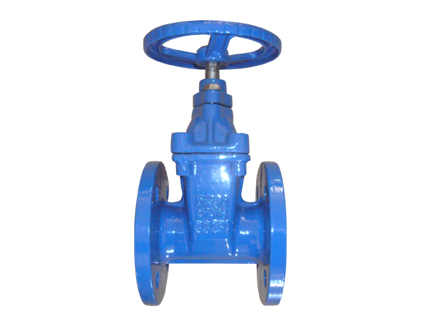 Big size Rubber seal gate valves F4 stanard