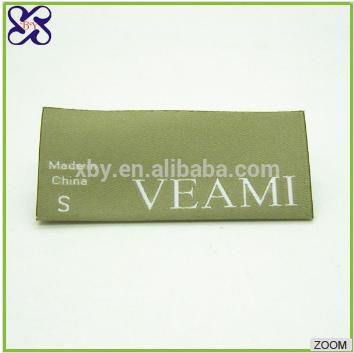 Cost-effective, low minimum tshirt woven label, Chinese manufacturer/maker