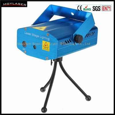 Mini Projector Stage Single Pattern Laser Light Spotlight Sound And Music Active For DJ Party