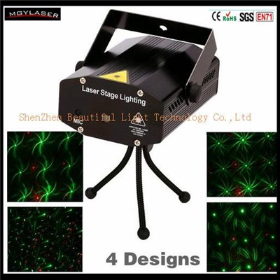 Portable Mini Multi Laser Pointer DJ Disco Music Stage Light Pattern Club Laser Xmas Lighting Projector Show